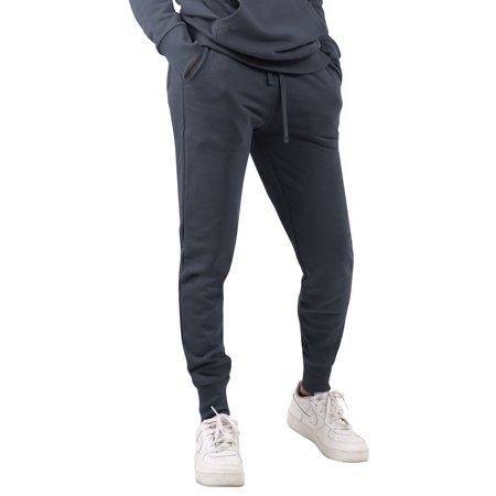 Ma Croix Womens Premium French Terry Joggers Wrinkle Resistant Sweatpants