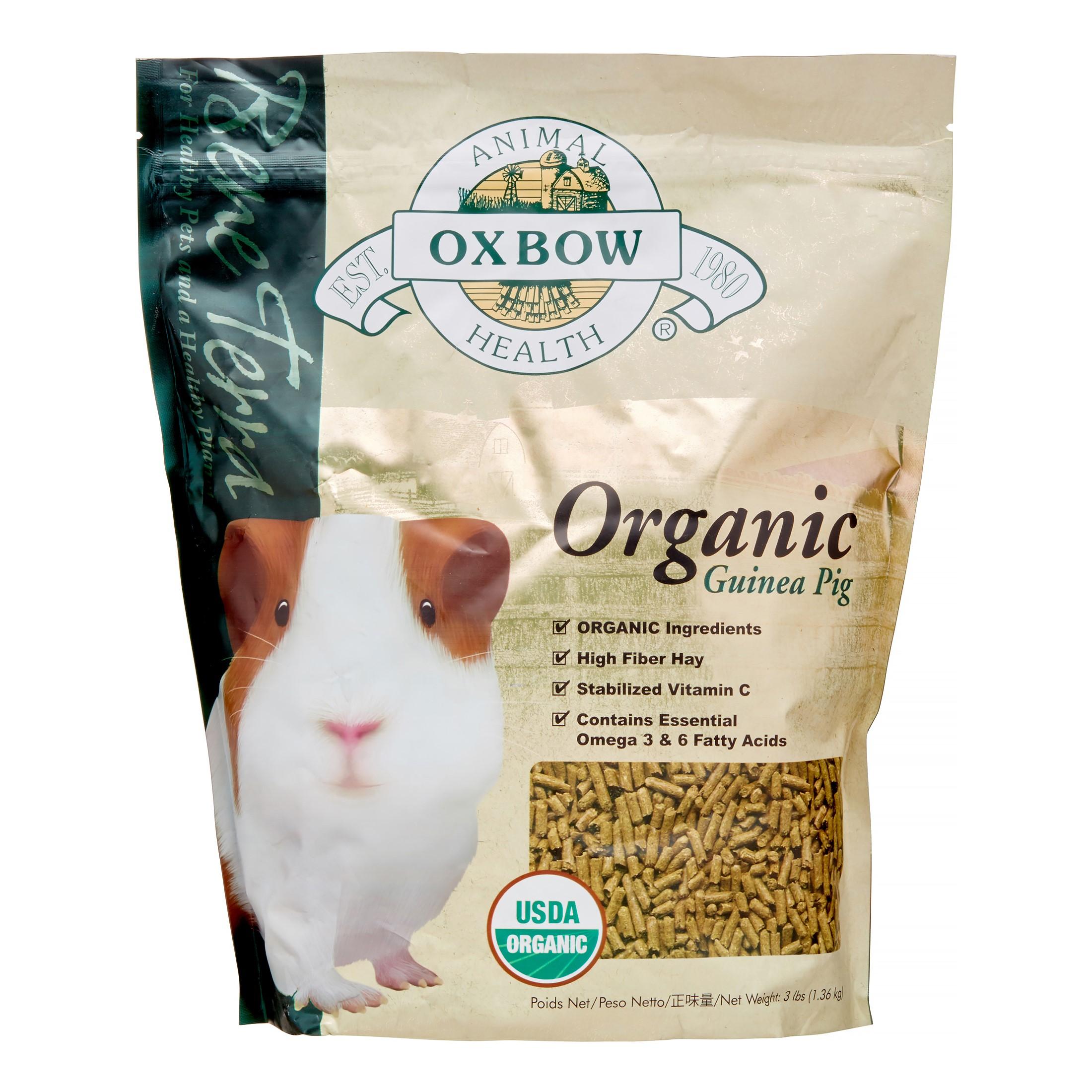 Oxbow Bene Terra Organic Guinea Pig Dry Small Animal Food, 3 lbs.