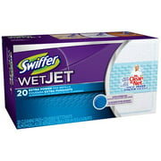 Swiffer Wet Jet Extra Power Cleaning Pad Refills, 20 count