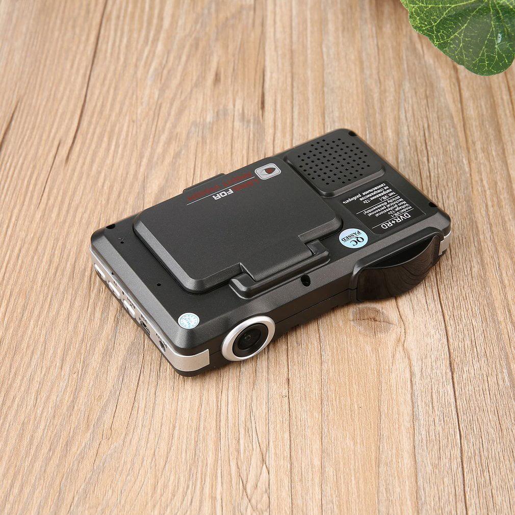 2 in 1 Car DVR Camera Video Recorder Radar Laser Speed Detector Track