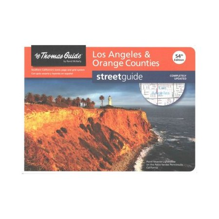 The Thomas Guide Los Angeles   Orange Counties Streetguide