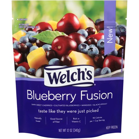 Welch S Blueberry Fusion  12 Oz    8 Pack