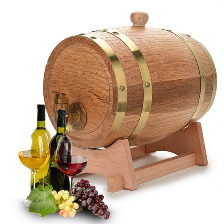 - Mavis Laven Wood Wine Barrel,3L Vintage Wood Oak Timber Wine Barrel Dispenser for Whiskey Bourbon Tequila,Oak Wine Barrel