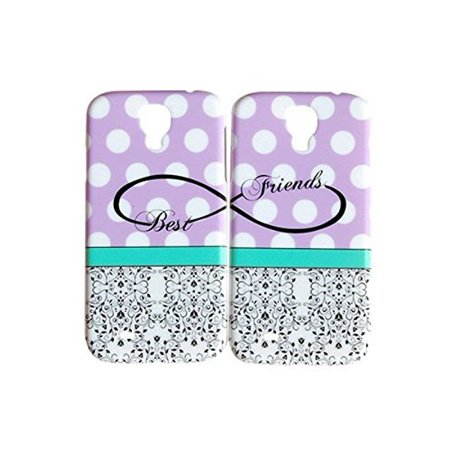 Purple Polka Dot Best Friends Phone Case for the Samsung Galaxy S6 by iCandy