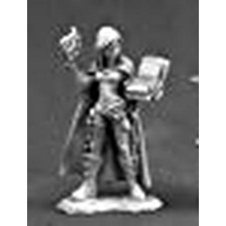 Nonalla Ellinad Female Elf Wizard Miniature 25mm Heroic Scale Dark Heaven Legends Reaper