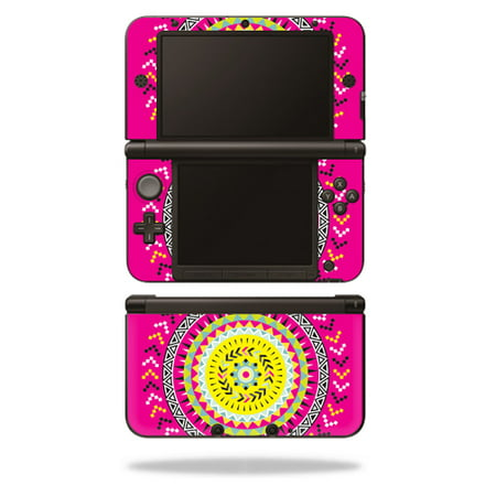 MightySkins Protective Vinyl Skin Decal Cover for Nintendo 3DS XL Original (2012-2014 Models) Sticker Wrap Skins Pink Aztec