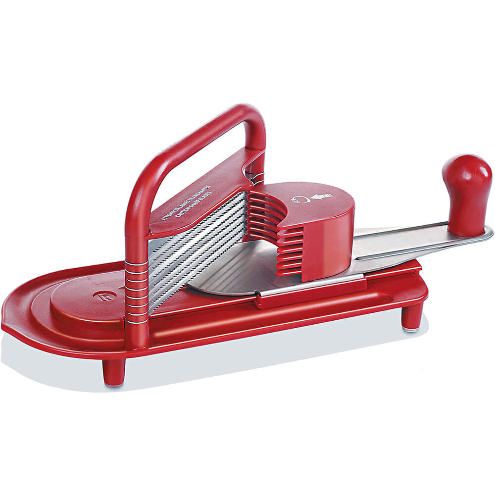 Paderno World Cuisine ABS Counter-top Tomato Slicer, Stainless Blades, 49837-01