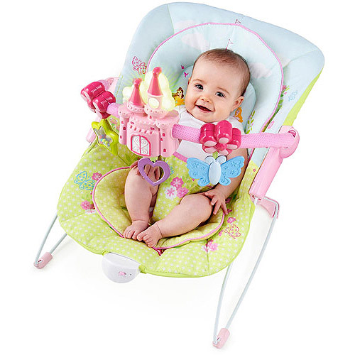 Disney Baby Flowers Fairytales Bouncer Featuring Disney Princess