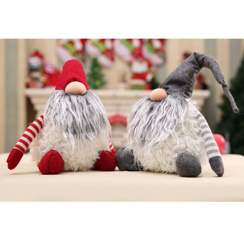 1PC CHRISTMAS SWEDISH TOMTE GNOMES SANTA FIGURINES FOR CHRISTMAS DECORATION