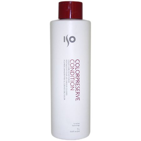 ISO Color Preserve Condition Unisex Conditioner, 33.8 (Iso Bouncy Condition)