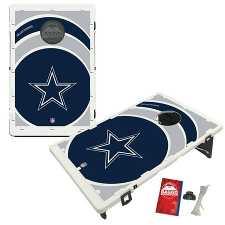 Dallas Cowboys 2' x 3' BAGGO Vortex Cornhole Board Tailgate Toss Set Dallas Cowboys Tailgate Table