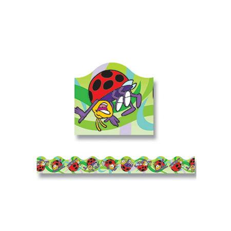 Trend Enterprises Trimmer Ladybugs Classroom Border