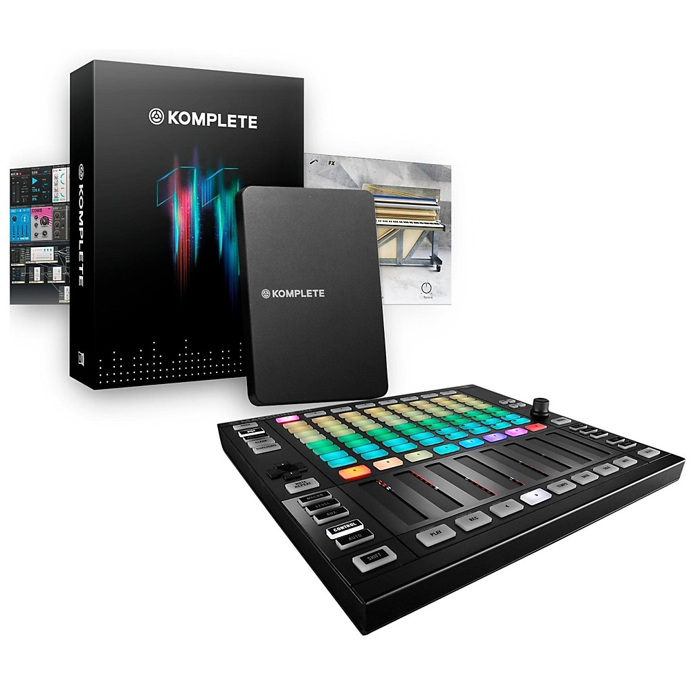 Native Instruments Maschine JAM with KOMPLETE 11 by Native Instruments