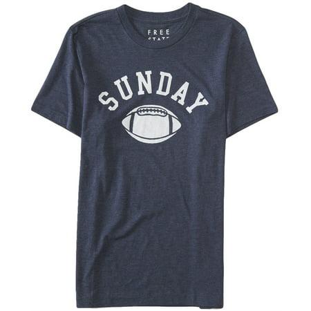 Aeropostale Mens Sunday Football Graphic T Shirt