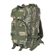 Outdoor Sport Backpack Molle Rucksacks Camping Hiking Trekking Bag Woodland Digital