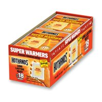 HeatMax HotHands Super Warmers - Up to 18 Hours of Heat - 40 Individual Warmers