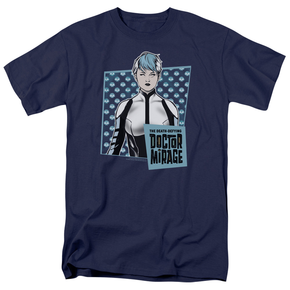 Doctor Mirage/Good Doctor S/S Adult 18/1 Navy   Val200