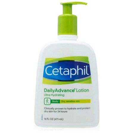 Dailyadvance Ultra Hydrating Lotion - 2 Pack Cetaphil Daily Advance Ultra Hydrating Lotion Sensitive Skin 16 oz each