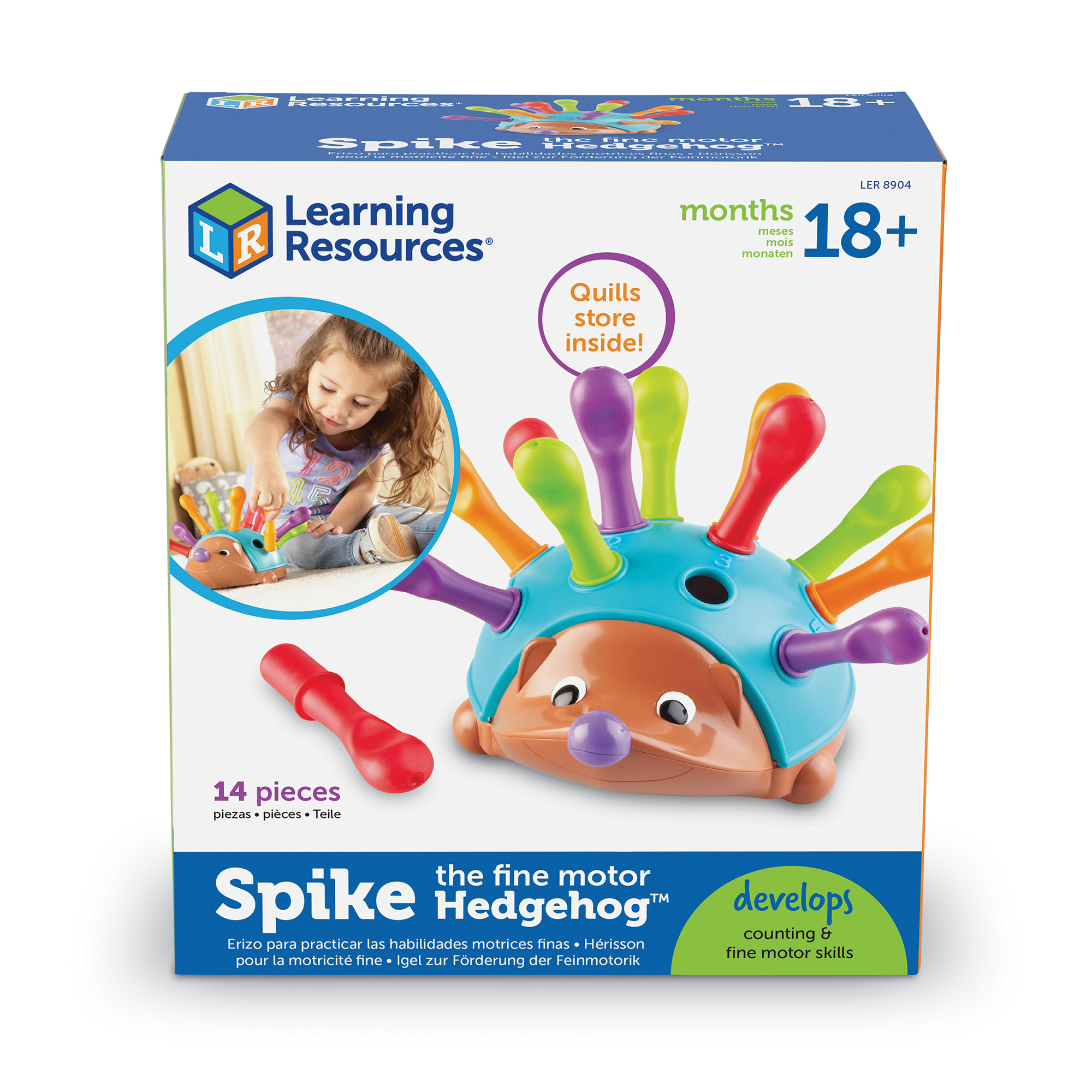 Learning Resources Spike The Fine Motor Hedgehog Toy of Year Finalist 18 months+