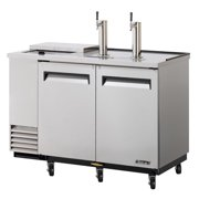 Turbo Air TCB-2SD, 59-inch Stainless Steel Club Top Beer Dispenser 2 Kegs by Turbo Air