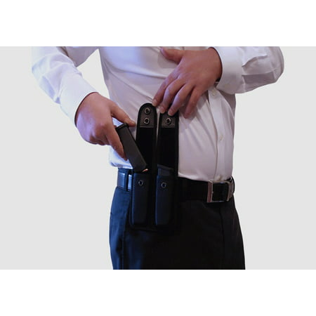 Tactical Double Magazine Pouch for Ruger LC380 LC9 9E Mark III and