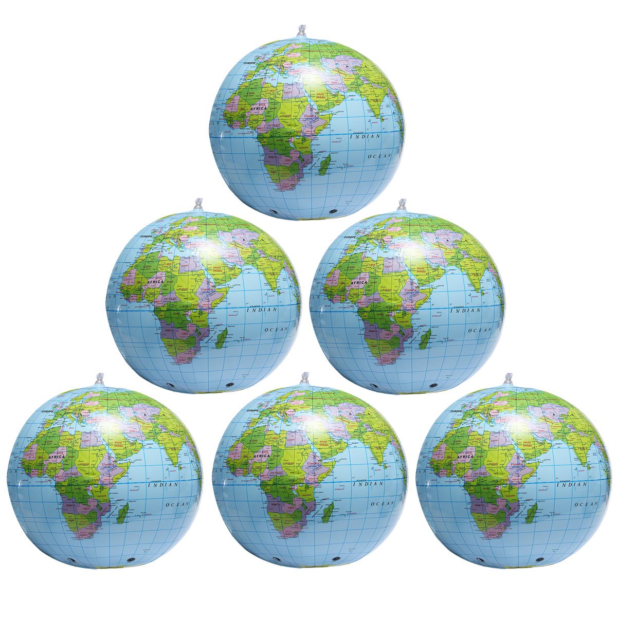 Map Of Canada On Globe.6x Inflatable World Earth Globe Map Beach Ball Geography Education Playing Toy Or Teaching 15 Inch