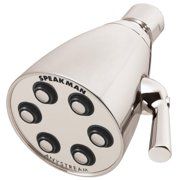 Speakman Icon 2.5 GPM Multi-Function Signature Brass Shower Head, Polished Brass