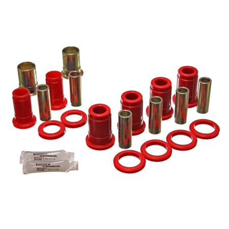 Energy Suspension 59-64 Bel Air/Impala / 64 El Camino (w/ Single U/A) Red Rear C/A Bushing Set