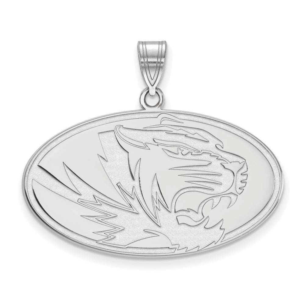Missouri Large (3/4 Inch) Pendant (14k White Gold)