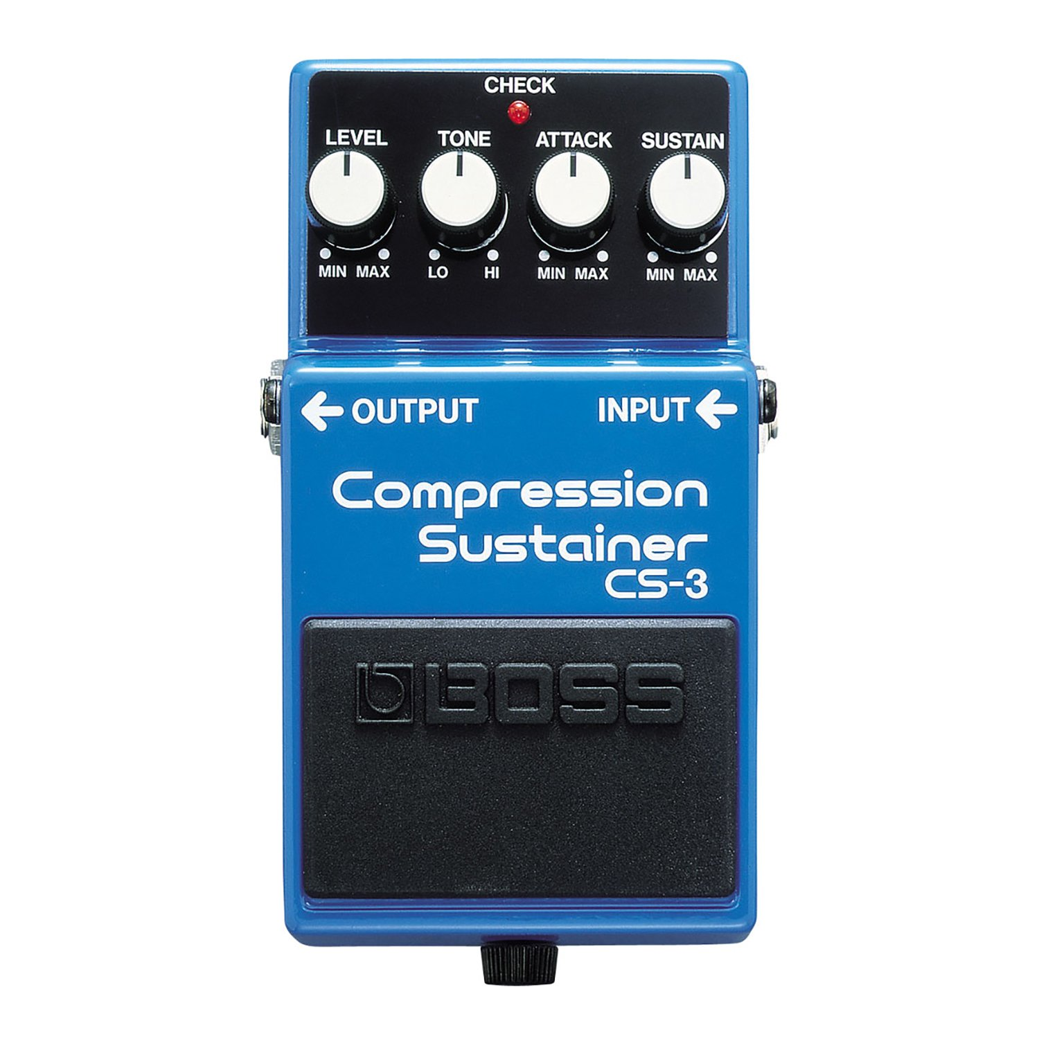 Boss CS-3 Compression Sustainer Tone Pedal Effect for Guitarists and Bassists