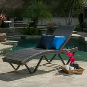 San Marcos Grey Chaise Lounge