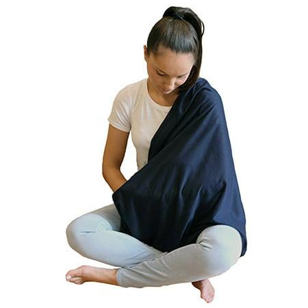 LK Baby Infinity Nursing Scarf Nursing Cover for Breastfeeding Privacy in Navy...