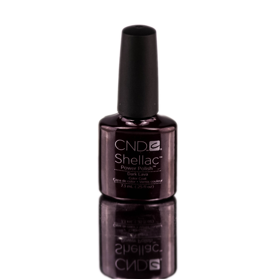 CND Shellac Power Polish Color Coat (Color : Plum Paisley)
