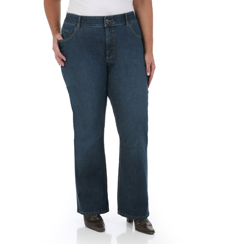 Riders By Lee Women's Plus-Size Slender Stretch Slimming Bootcut Jeans