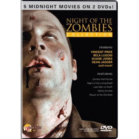 Night of the Zombies Collection (DVD) - Zombie Projection Dvd