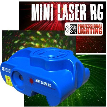 Mini Laser Light Show - Red and Green Lasers - Sound Active - Stage Light or DJ Light](Halloween Sound Light Laser Show)