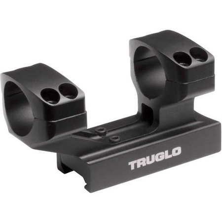 Truglo TG8963B Scope Mount For Tactical Rifle 1-Piece Weaver/Picatinny, Black Fin ()