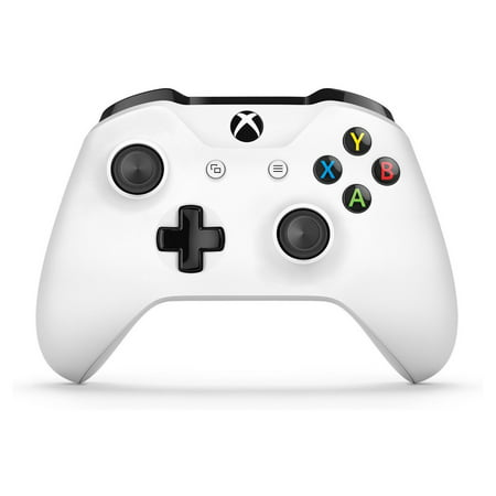 Microsoft Xbox One Wireless Controller, White, (Ap Wlan Controller)