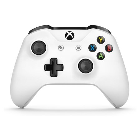 Microsoft Xbox One Wireless Controller, White, TF500002 (Xbox 360 Modded Control)
