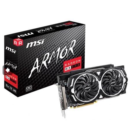 MSI Radeon RX 590 ARMOR 8G OC Graphics Card