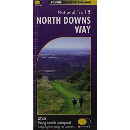 North Downs Way XT40: (East & West): 1 (Map)