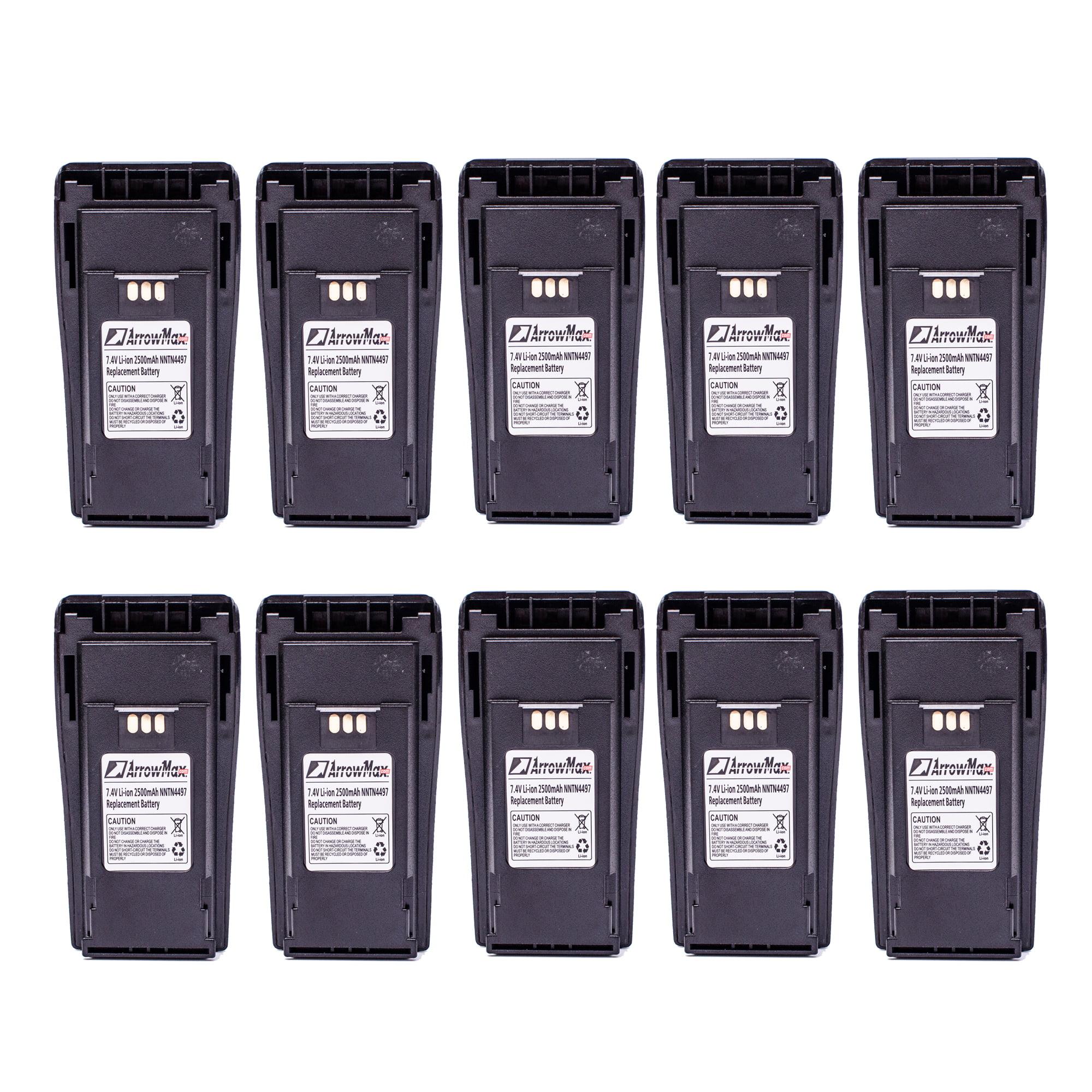 10 Pack Maxtop AMCL4497-2500-D NNTN4497 2500mAh High Capi...