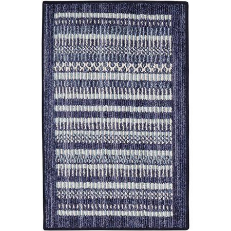 Design Accent Rug (Mohawk Home Blue Mix Accent Area or Runner Rug )