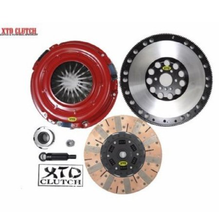 Flywheel Friction Plate - XTD STAGE 3 DUAL FRICTION CLUTCH & FLYWHEEL KIT 98-02 CHEVY CAMARO LS1