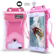 huge discount e310d 22ba7 Floatable IPX8 Waterproof Phone Pouch, Waterproof Case Underwater Dry Bag  for iPhone Xs Max/XS/XR/X/8/8P, Galaxy S9/S9P/, Google Pixel/HTC/Huawei, ...