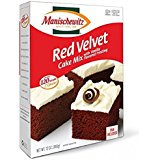 Manischewitz Red Velvet Cake Mix With Vanilla Flavored Frosting Kosher For Passover 12 oz. Pack of 1.