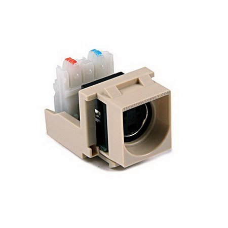 S-Video Quickport Insert - Ivory, S110INSERT-I