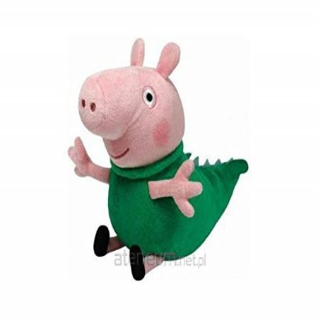 e884f403636 TY Peppa Pig Beanie Baby Plush - George Dinosaur Pig 15cm by Soft Toys -  Walmart.com
