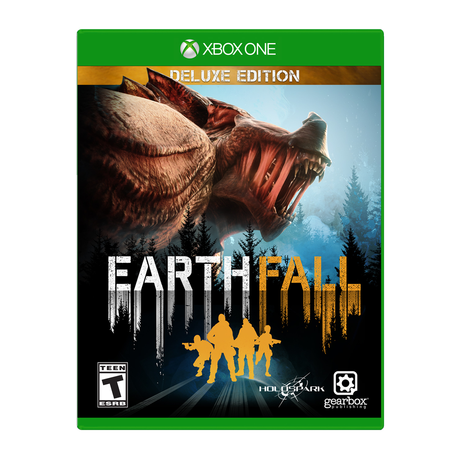 Earthfall Deluxe Edition, Gearbox, Xbox One, 850942007533