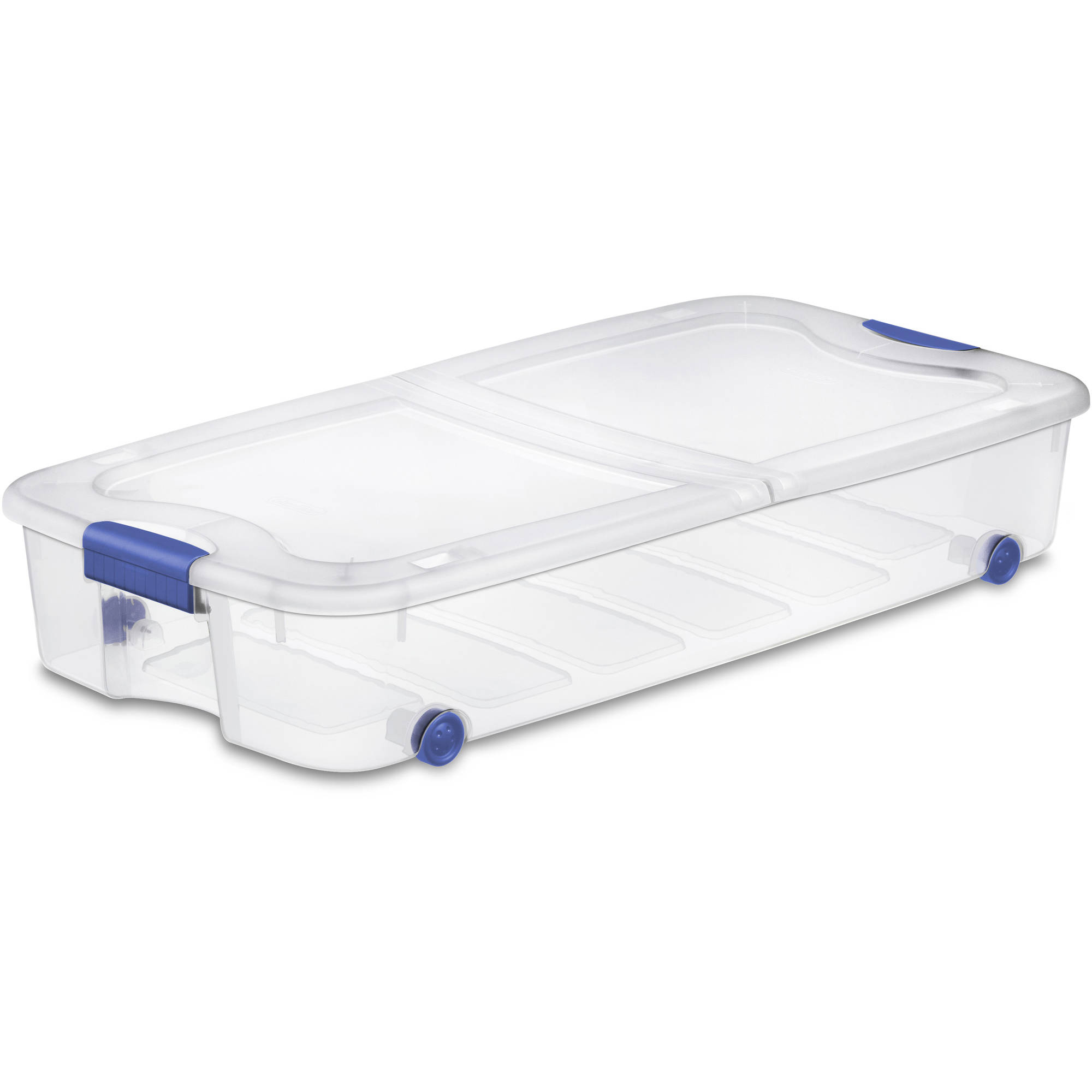 Hefty 32 Quart Hi rise Latching Container Clear Walmartcom